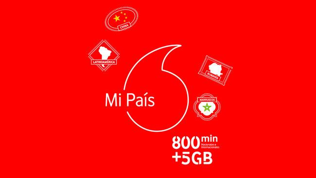 Vodafone Mi País, la nueva tarifa prepago para llamadas internacionales