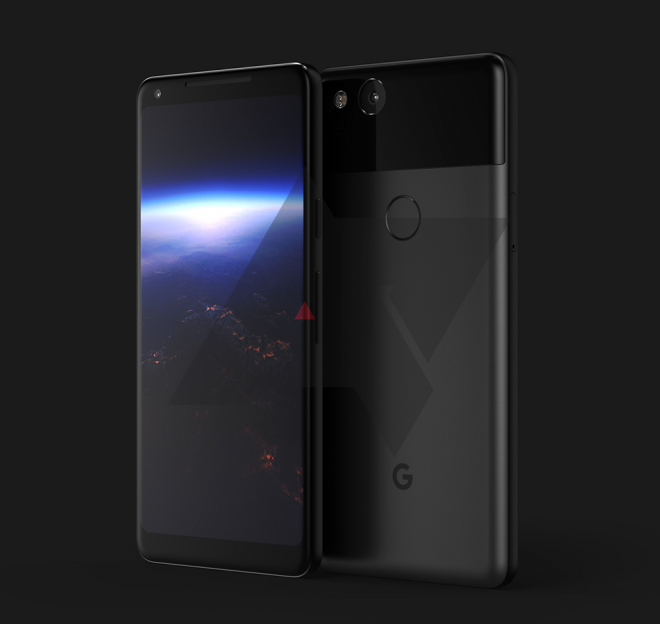 Así será el Google Pixel 2