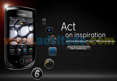 Blackberry Torch, el primer dispositivo que integra Blackberry 6