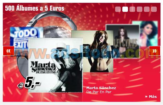 Media Markt lanza su web de descarga de musica MediaDownload