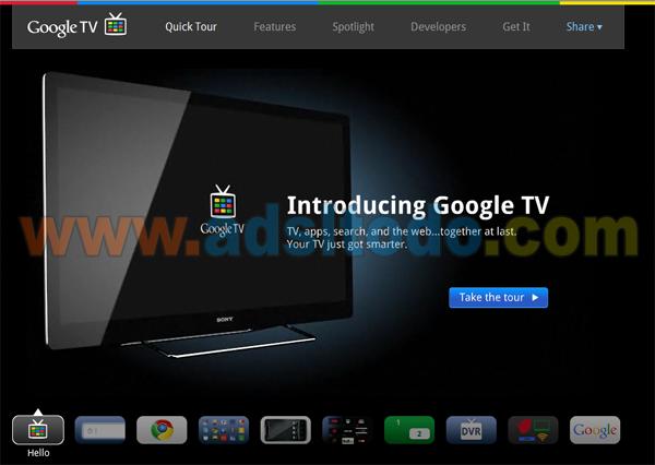Ya esta online la web de Google TV