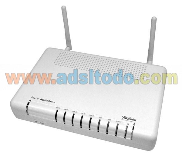 Router Observa Telecom AW4062 configuracion wifi en modo WEP