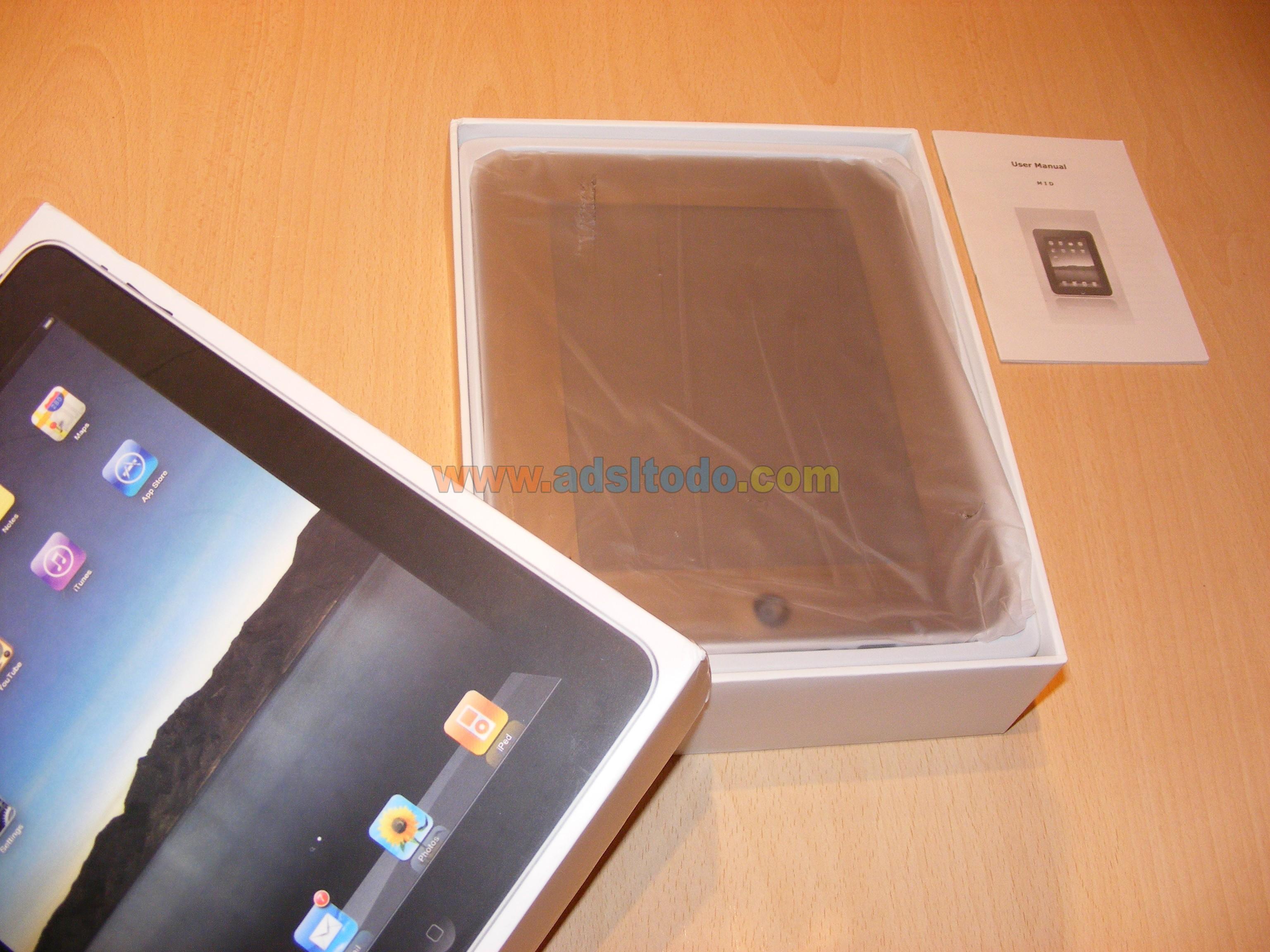 Tablet PC aPad  EKEN M003 Android 1.6 análisis y revision