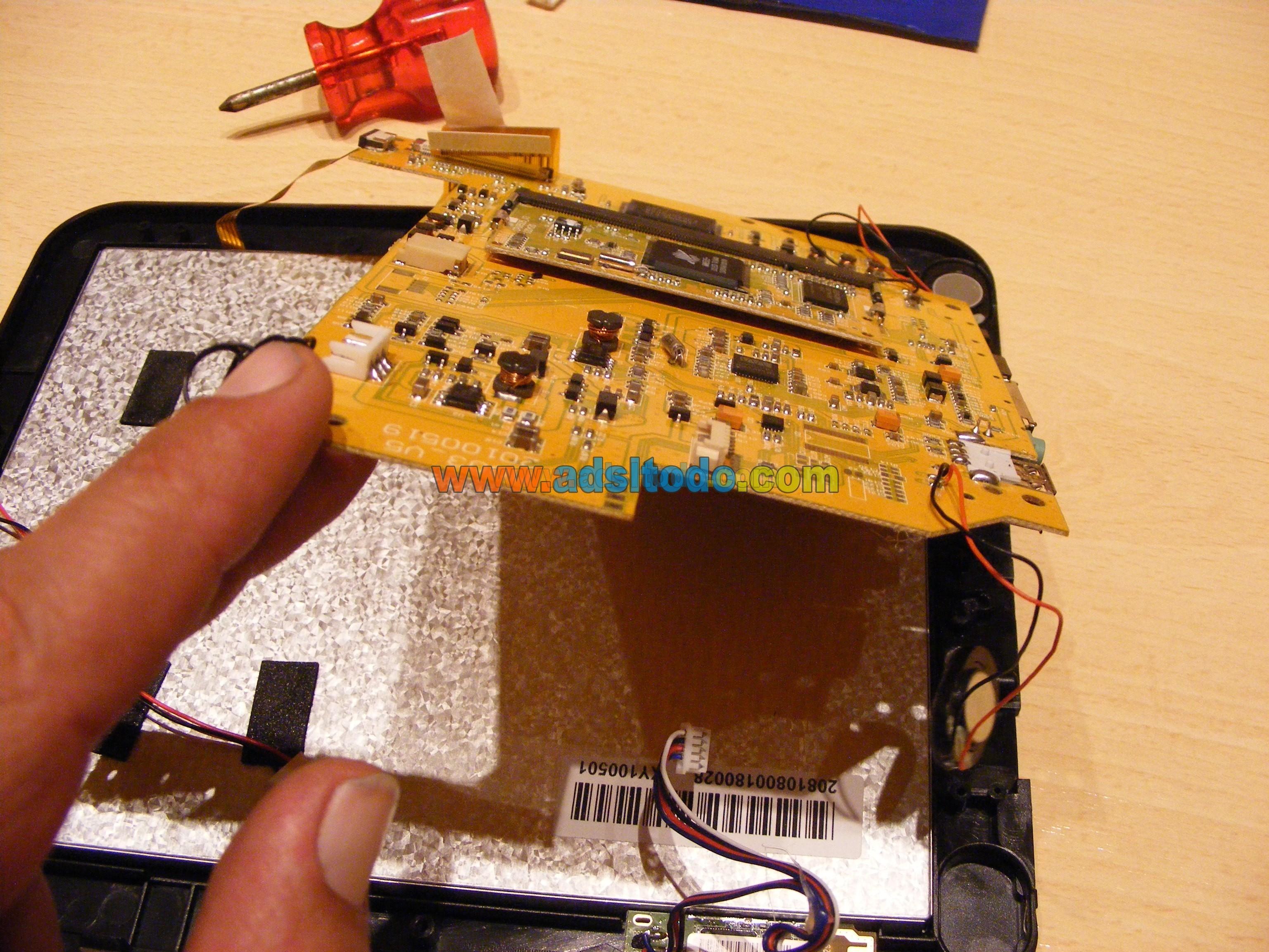 Como solucionar un brick en una tablet Eken M003