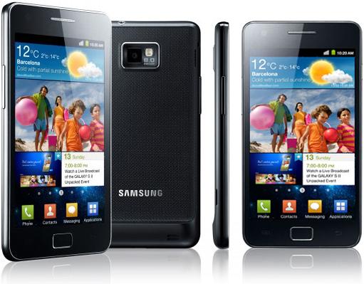 Samsung Galaxy SII desde cero euros