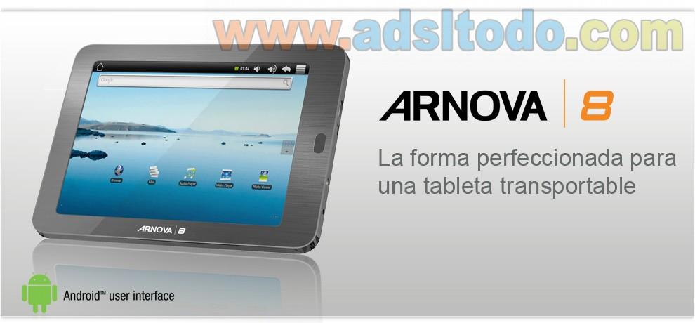 Nuevas tabletas android de bajo coste de Arnova