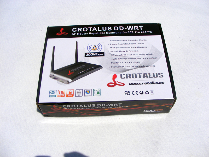 Review Crotalus DD-WRT Router
