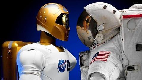 R2 ROBOT HUMANOIDE DE LA NASA