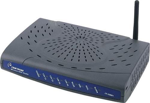 comtrend ct536 carga de firmware por tftp