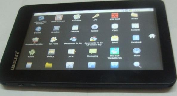 El Tablet Aakash, con Android 2.2 cuesta 35 dolares