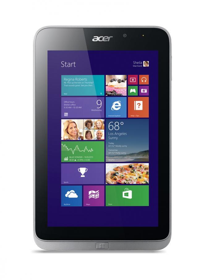 Presentada la nueva tablet Acer Iconia W4
