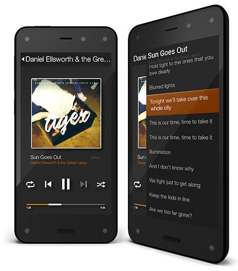 Amazon Fire Phone, el primer smartphone de la tienda online