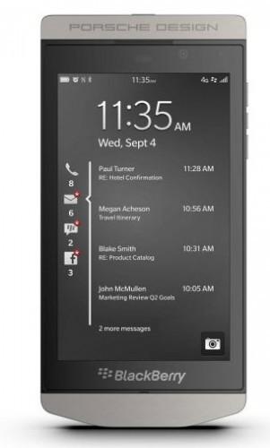 Nuevo BlackBerry Porsche Design P9982