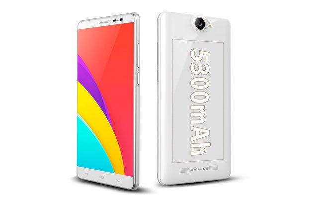 Bluboo X550, un smartphone con una batería de 5.300 mAh