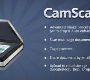 Utiliza tu Smartphone como escáner con CamScanner