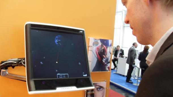 Control de Windows 8 con sensor óptico
