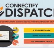 Conecta múltiples conexiones WiFi, 3G, 4G y por cable en la misma conexión con Dispatch