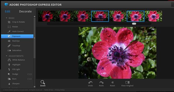 Utilidades para editar fotos online