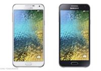 Galaxy E5 y Galaxy E7