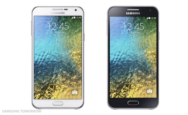Samsung presenta sus nuevos Galaxy E5 y Galaxy E7