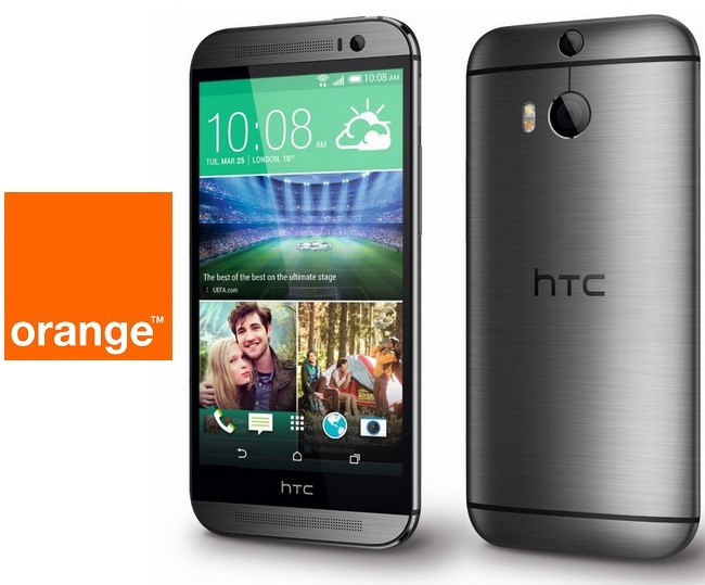 HTC One (M8), con Orange desde 0 €