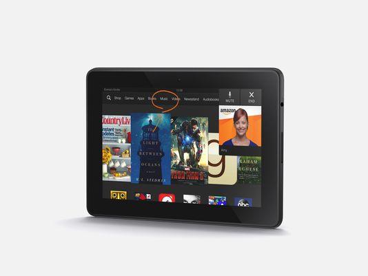 Nuevos tablets Kindle Fire HDX de 7 y 8,9 pulgadas