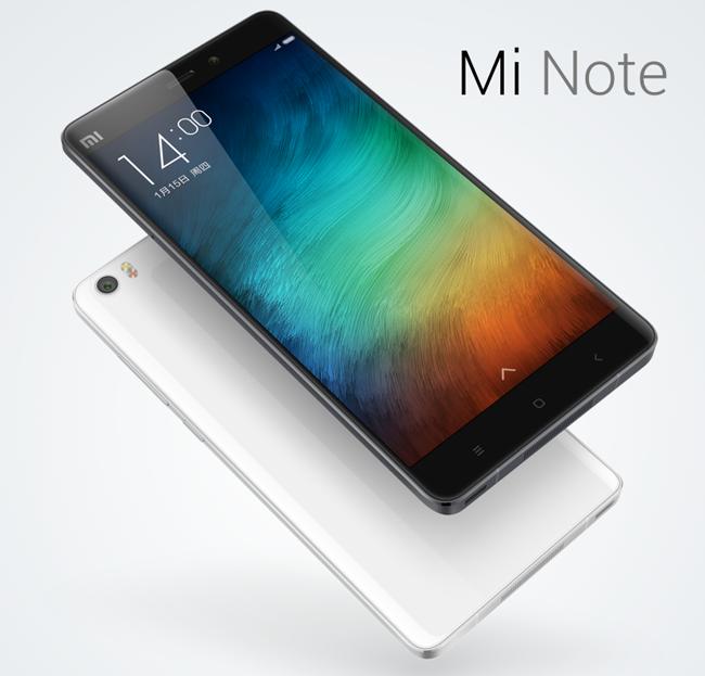Así es la nueva Xiaomi Mi Note