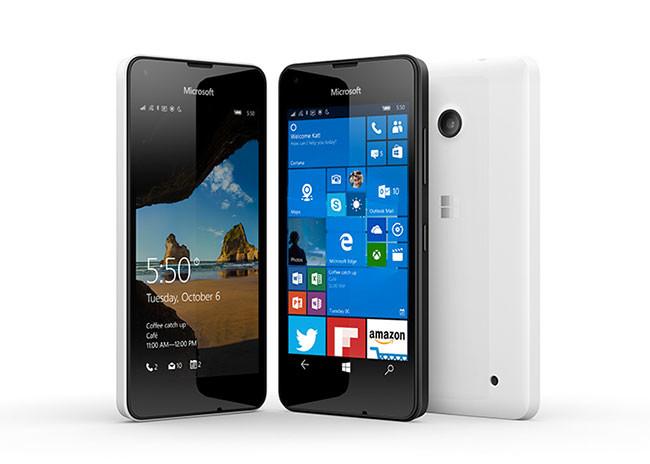 Microsoft Lumia 550, presentado