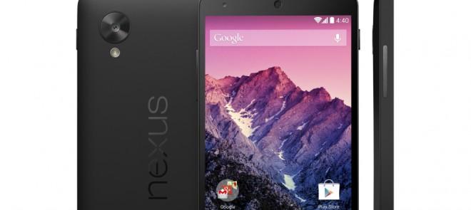 Nexus 5, ya a la venta en España