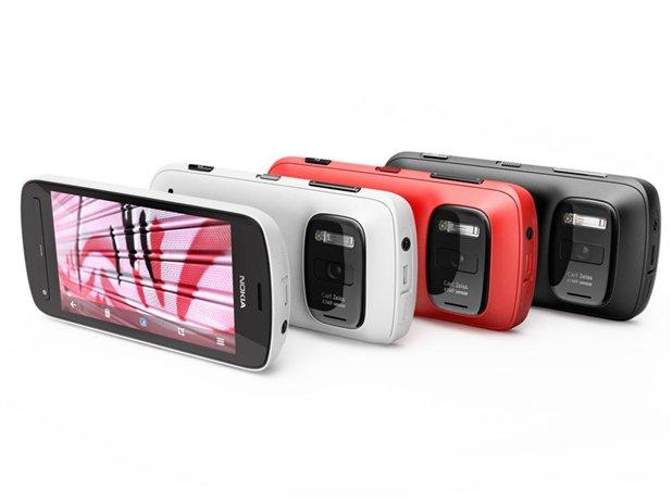 Nokia 808 PureView, un smartphone con cámara de 41 megapíxeles.