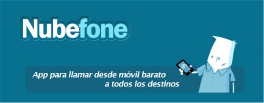 Nubefone: App para llamar a bajo coste sin consumir datos