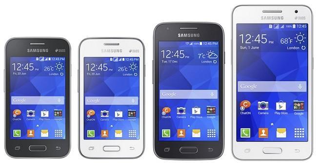 Samsung presenta sus nuevos Galaxy Core II, Ace 4, Young 2 y Star 2