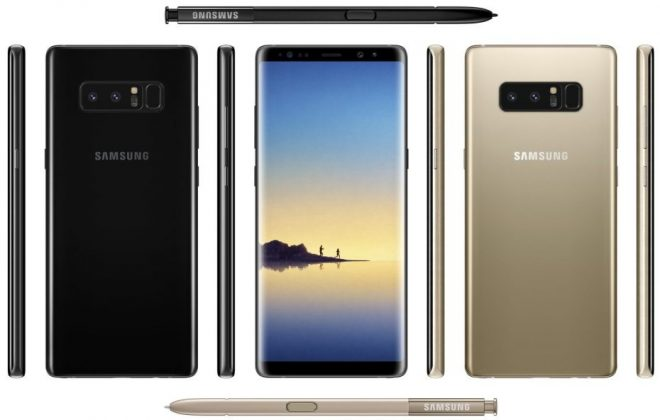 Así será el nuevo Samsung Galaxy Note 8