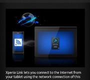Comparte internet con Xperia Link