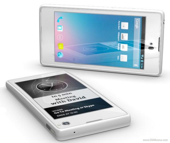 Yotaphone, el smartphone con dos pantallas