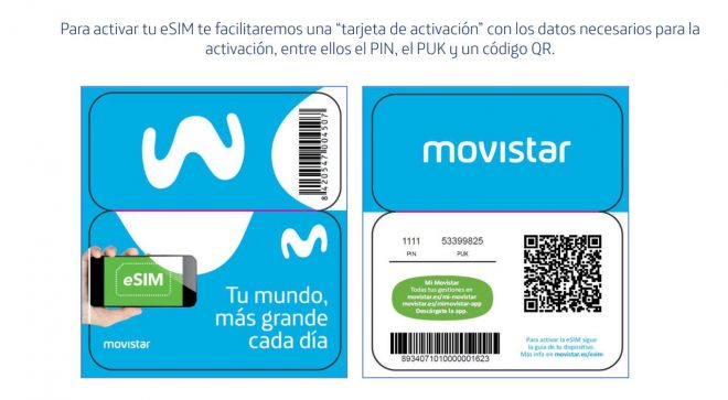 La eSIM ya está disponible en Movistar, pero solo para iPhone