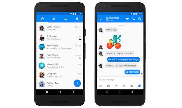 Facebook Messenger para Android y su novedad