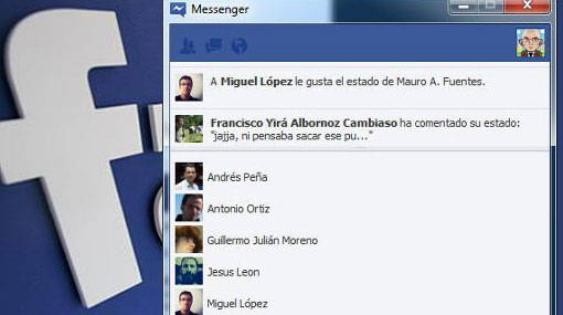 Lanzado Facebook Messenger para Windows