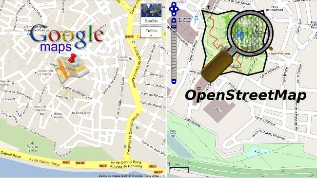 OpenStreetMaps, la alternativa a Google Maps