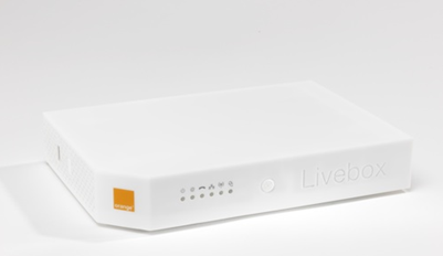 Instalar y configurar  router multimedia Livebox de Orange
