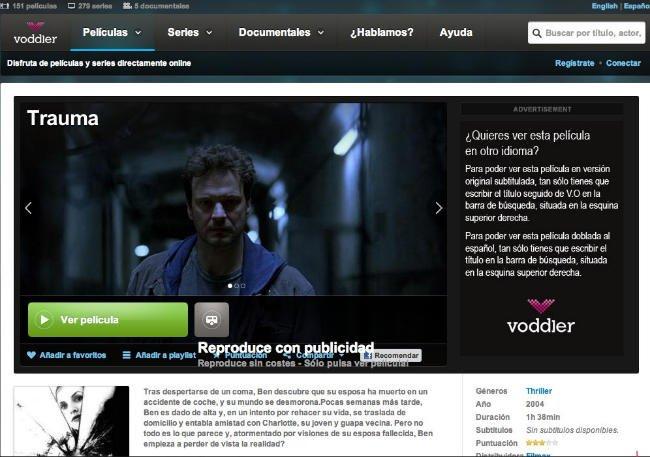 Voddler, ya disponible en España.