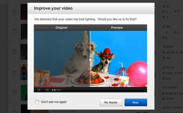 Nueva actualización de YouTube: Corregir Video
